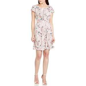 Anthropologie Yumi Easter Bird Print dress